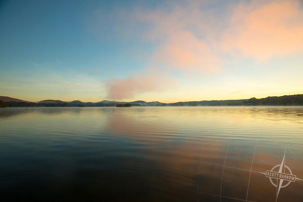 Pontoosuc Lake in Pittsfield, MA