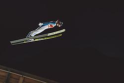 02.03.2021, Oberstdorf, GER, FIS Weltmeisterschaften Ski Nordisch, Oberstdorf 2021, Damen, Skisprung, HS137, Einzelbewerb, Qualifikation, im Bild Maren Lundby (NOR) // Maren Lundby of Norway during the qualification jump for the women ski Jumping HS137 single competition of FIS Nordic Ski World Championships 2021 Oberstdorf, Germany on 2021/03/02. EXPA Pictures © 2021, PhotoCredit: EXPA/ Dominik Angerer