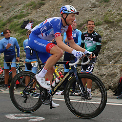 LUZ ARDIDEN (FRA) CYCLING: July 15<br /> 18th stage Tour de France Pau-Luz Ardiden<br /> Images from the Col du Tourmalet<br /> Stefan Kung