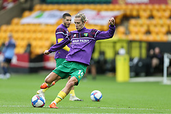 Todd Cantwell of Norwich City during the warm up - Mandatory by-line: Arron Gent/JMP - 24/10/2020 - FOOTBALL - Carrow Road - Norwich, England - Norwich City v Wycombe Wanderers - Sky Bet Championship