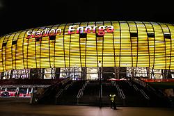 November 13, 2017 - Gdansk, Poland - Stadion Energa Gdansk during the International Friendly match between Poland and Mexico at Energa Stadium in Gdansk, Poland on November 13, 2017. (Credit Image: © Foto Olimpik/NurPhoto via ZUMA Press)