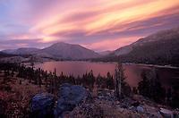 Tioga Lake - Eastern Sierras, California.
