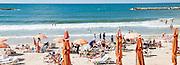 Frishman Beach, Tel Aviv, Israel