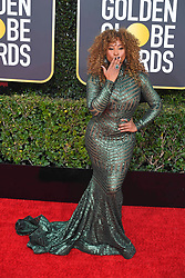 January 6, 2019 - Los Angeles, California, U.S. - Jan 6, 2019 - Beverly Hills, California, U.S. -Tanika Ray during red carpet arrivals for the 76th Annual Golden Globe Awards at The Beverly Hilton Hotel..(Credit: © Kevin Sullivan via ZUMA Wire) (Credit Image: © Kevin Sullivan via ZUMA Wire)