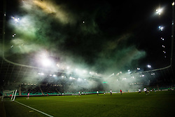 Football match between NK Olimpija Ljubljana and NS Mura in 25. Round of Prva liga Telekom Slovenije 2019/20, on March 8, 2020 in Stadion Stozice, Ljubljana, Slovenia. Photo by Grega Valancic / Sportida