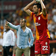 Galatasaray's Hakan Balta during their Turkish Super League soccer match Galatasaray between Kasimpasa at the TT Arena at Seyrantepe in Istanbul Turkey on Monday 20 August 2012. Photo by TURKPIX