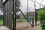 Nederland, Nijmegen, 7-10-2019Ingang van de Pompekliniek. Verlof, proefverlof, tbs inrichting, kliniek, psychiatrie, zwaar geweldsmisdrijf, moord, moordenaar, behandeling, forensische, ontsnappen, ontsnapping, maatschappelijke onrust.Foto: Flip Franssen