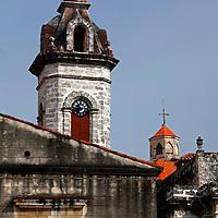 Central America, Cuba, Havana. Architecture of Havana.