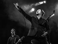 German indie legend Phillip Boa & The Voodooclub at Batschkapp club in Frankfurt