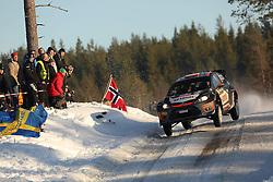 14.02.2015, Karlstad, Karlstad, SWE, FIA, WRC, Schweden Rallye, im Bild // during the WRC Sweden Rallye at the Karlstad in Karlstad, Sweden on 2015/02/14. EXPA Pictures © 2015, PhotoCredit: EXPA/ Eibner-Pressefoto/ Bermel<br /> <br /> *****ATTENTION - OUT of GER*****