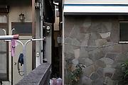 residential housing build close to each other Japan Yokosuka