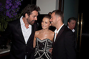 RUPERT EVERETT; KARA TOINTON;Artem Chigvintsev, The aftershow party for PYGMALION. National Gallery Gallery CafŽ, London.  May 25, 2011,<br /> <br /> <br /> <br />  , -DO NOT ARCHIVE  Copyright Photograph by Dafydd Jones. 248 Clapham Rd. London SW9 0PZ. Tel 0207 820 0771. www.dafjones.com.<br /> RUPERT EVERETT; KARA TOINTON;Artem Chigvintsev, The aftershow party for PYGMALION. National Gallery Gallery Café, London.  May 25, 2011,<br /> <br /> <br /> <br />  , -DO NOT ARCHIVE  Copyright Photograph by Dafydd Jones. 248 Clapham Rd. London SW9 0PZ. Tel 0207 820 0771. www.dafjones.com.