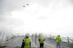 Aircraft carrier flypast | Rosyth | 1 July 2016