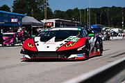 September 4-5, 2020. IMSA Weathertech Road Atlanta 6hr: #48 Paul Miller Racing Lamborghini Huracan GT3, GTD: Bryan Sellers, Madison Snow, Corey Lewis