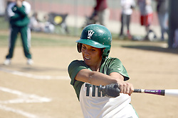 05 April 2008: Allison Ward. The Carthage College Lady Reds lost the first game of this double header to the Titans of Illinois Wesleyan 4-1 at Illinois Wesleyan in Bloomington, IL