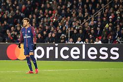 22 November 2017 -  UEFA Champions League (Group B) - Paris Saint-Germain v Celtic - Neymar of PSG - Photo: Marc Atkins/Offside
