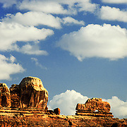 Utah, southwest.<br /> Wooden Shoe Arch in the Needles District, Canyonlands National Park, Utah.