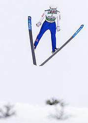 February 8, 2019 - Lahti, Finland - Martin Hahn competes during Nordic Combined, PCR/Qualification at Lahti Ski Games in Lahti, Finland on 8 February 2019. (Credit Image: © Antti Yrjonen/NurPhoto via ZUMA Press)