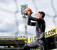LONDON, ENGLAND - MAY 13: Wayne Hennessey (13) of Crystal Palace during the Premier League match between Crystal Palace and West Bromwich Albion at Selhurst Park on May 13, 2018 in London, England. MB Media