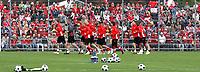 GEPA-1206086040 - FREIENBACH,SCHWEIZ,12.JUN.08 - FUSSBALL - UEFA Europameisterschaft, EURO 2008, Nationalteam Schweiz, Training. Bild zeigt die Mannschaft der Schweiz.<br />Foto: GEPA pictures/ Philipp Schalber