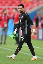 June 22, 2018 - Moscow, RUSSIA - Tunesia's Aymen Mathlouthi pictured during a training session of Tunisian national soccer team in the Spartak stadium, in Moscow, Russia, Friday 22 June 2018. The team is preparing for their second game against Belgium tomorrow at the FIFA World Cup 2018. BELGA PHOTO BRUNO FAHY (Credit Image: © Bruno Fahy/Belga via ZUMA Press)