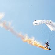 NLD/Zandvoort/20190518 - Jumbo Racedagen 2019, Redbull parachutist