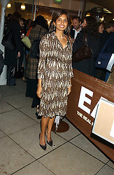 DIVIA LALVANI at a party to celebrate the publication of Soup Kitchen by Annabel Buckingham and Thomasina Miers held at Eat. Royal Festival Hall, London SE1 on 1st November 2005.<br /><br />NON EXCLUSIVE - WORLD RIGHTS