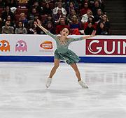 Yelim Kim Representing Korea during the ISU - Four Continents Figure Skating Championships, at the Honda Center in Anaheim California, February 5-10, 2019