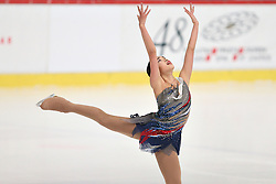 05.12.2015, Dom Sportova, Zagreb, CRO, ISU, Golden Spin of Zagreb, freies Programm, Damen, im Bild Karen Chen, USA. // during the 48th Golden Spin of Zagreb 2015 ladys Free Program of ISU at the Dom Sportova in Zagreb, Croatia on 2015/12/05. EXPA Pictures © 2015, PhotoCredit: EXPA/ Pixsell/ Davor Puklavec<br /> <br /> *****ATTENTION - for AUT, SLO, SUI, SWE, ITA, FRA only*****