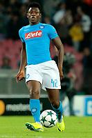 Amadou Diawara Napoli, <br /> Napoli 19-10-2016 Napoli - Besiktas<br /> Football Calcio UEFA Champions League 2016/2017 Group B. Napoli - Besiktas<br /> Foto Cesare Purini / Insidefoto