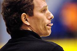 04-03-2006 VOLLEYBAL: FINAL 4 DAMES: HCC MARTINUS - DROS ALTERNO: ROTTERDAM<br /> Martinus was veel te sterk voor de dames uit Apeldoorn (3-0) / Avital Selinger<br /> Copyrights 2006 WWW.FOTOHOOGENDOORN.NL