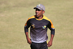 Boland captain Keegan Peterson during the Africa T20 cup pool D match between Boland and Gauteng held at the Boland Park cricket ground in Paarl on the 25th September 2016.<br /> <br /> Photo by: Shaun Roy/ RealTime Images