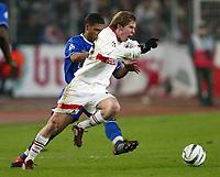 v.l. Glen JOHNSON, Alexander HLEB Stuttgart<br /> Fu§ball Champions League VfB Stuttgart - FC Chelsea