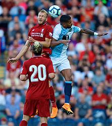BLACKBURN, ENGLAND - Thursday, July 19, 2018: Liverpool's Ragnar Klavan during a preseason friendly match between Blackburn Rovers FC and Liverpool FC at Ewood Park. (Pic by David Rawcliffe/Propaganda)