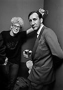 Pete Twonsend with Adam Clayton - U2 Hammersmith