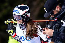 Kerstin Franzel (AUT) at National Junior Championships 2021 - Slalom, on March 17, 2021 in Podkoren, Kranjska Gora, Slovenia. Photo by Matic Klansek Velej / Sportida