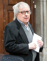 © London News Pictures. FILE PIC DATED 05/03/2016. London, UK.  BILL WYMAN leaves a ceremony to mark the wedding of Rupert Murdoch and Jerry Hall at St Brides Church in London on February 05, 2016. Former Rolling Stone Bill Wyman has been diagnosed with prostate cancer at the aged of 79. Photo credit: Ben Cawthra