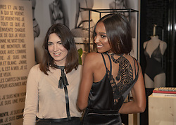 February 20, 2019 - London, United Kingdom - Designer Lisa Chavy and Angel Jasmine Tookes Celebrate French Lingerie Label LIVY At The Victoria's Secret New Bond Street Store in London. (Credit Image: © Gary Mitchell/SOPA Images via ZUMA Wire)
