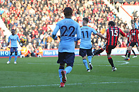Football - 2017 / 2018 Premier League - AFC Bournemouth vs. Newcastle United<br /> <br /> Bournemouth's Adam Smith curls in Bournemouth first goal at Dean Court (Vitality Stadium) Bournemouth <br /> <br /> COLORSPORT/SHAUN BOGGUST