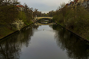 A view of the Landwehr Canal (Landwehrkanal) in Berlin, Germany, April 11, 2012.