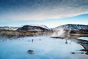 Mývatn, Iceland, 4 apr 2019, Mývatn Nature Baths Spa