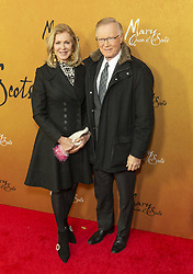 December 4, 2018 - New York, New York, United States - Ellen Ward and Chuck Scarborough attend the New York premiere of 'Mary Queen Of Scots' at Paris Theater  (Credit Image: © Lev Radin/Pacific Press via ZUMA Wire)