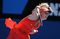 TENNIS - GRAND SLAM - AUSTRALIAN OPEN 2012 - MELBOURNE PARK (AUS) - 18/01/2012 - PHOTO : VIRGINIE BOUYER / TENNIS MAGAZINE / DPPI - DAY 3 - CAROLINE WOZNIACKI (DEN)