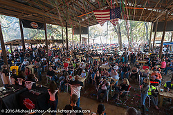 Awards ceremony at Harley Davidson's Editor's Choice Bike Show at the Broken Spoke Saloon during Daytona Bike Week 75th Anniversary event. FL, USA. Wednesday March 9, 2016.  Photography ©2016 Michael Lichter.