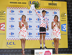 July 18, 2017 - Romans-Sur-Isere, France - ROMANS-SUR-ISERE, FRANCE - JULY 18 : BARGUIL Warren of Team Sunweb during stage 16 of the 104th edition of the 2017 Tour de France cycling race, a stage of 165 kms between Le Puy-en-Velay and Romans-Sur-Isere on July 18, 2017 in Romans-Sur-Isere, France, 18/07/2017 (Credit Image: © Panoramic via ZUMA Press)