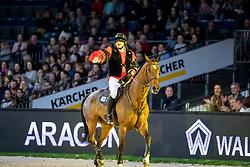 Kreuzer Andreas, GER, Easy Blue<br /> Stuttgart - German Masters 2018<br /> © Hippo Foto - Stefan Lafrentz