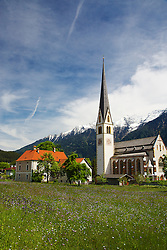 Church, Wildermieming, Austria. Wildermieming-Dorf, Wildermieming-Siedlung and Affenhausen form the municipality of Wildermieming, located in the eastern Mieminger plateau. The name of Affenhausen derives from Saint Afra, who is the patron saint of carters. In the 19th century Wildermieming has been separated from Mieming.