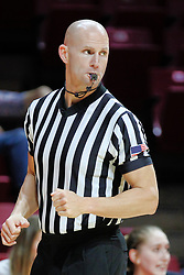 NORMAL, IL - December 16: Shane Bennett during a college women's basketball game between the ISU Redbirds and the Maryville Saints on December 16 2018 at Redbird Arena in Normal, IL. (Photo by Alan Look)