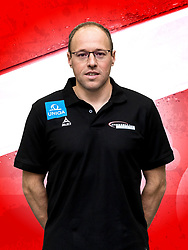 26.10.2018, Raiffeisen Sportpark, Graz, AUT, ÖHB, Fototermin Herren Nationalteam, im Bild Co-Trainer Erwin Gierlinger (AUT) // during a Portrait Photoshoot of the Austrian men' s handball National Team at the Raiffeisen Sportpark, Graz, Austria on 2018/10/26. EXPA Pictures © 2018, PhotoCredit: EXPA/ Sebastian Pucher