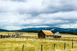 Deserted Ranch in Cascade Idaho. This little valley is full of beautiful old ranches.